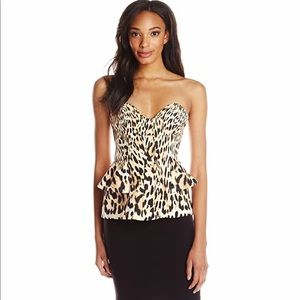 Brand New Finders Keepers Strapless Bustier Top